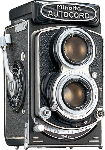Minolta Autocord Vintage cameras collection by Sylvain Halgand